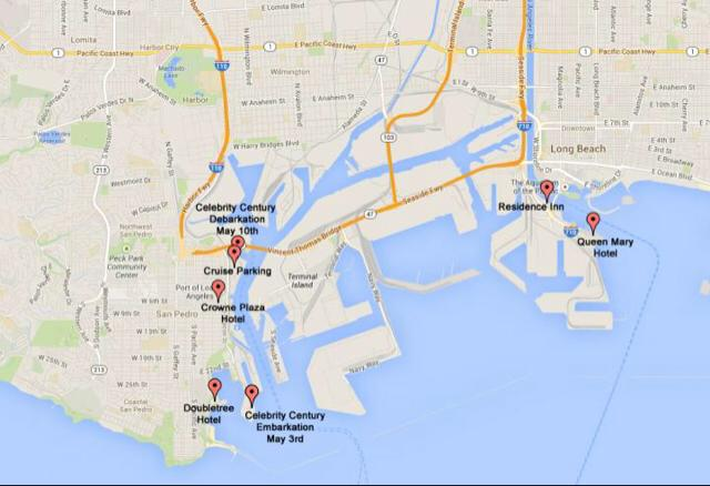 Hotel map Couples Cruise