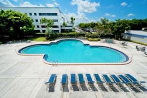 Independence hotel Sheraton Ft Lauderdale pool