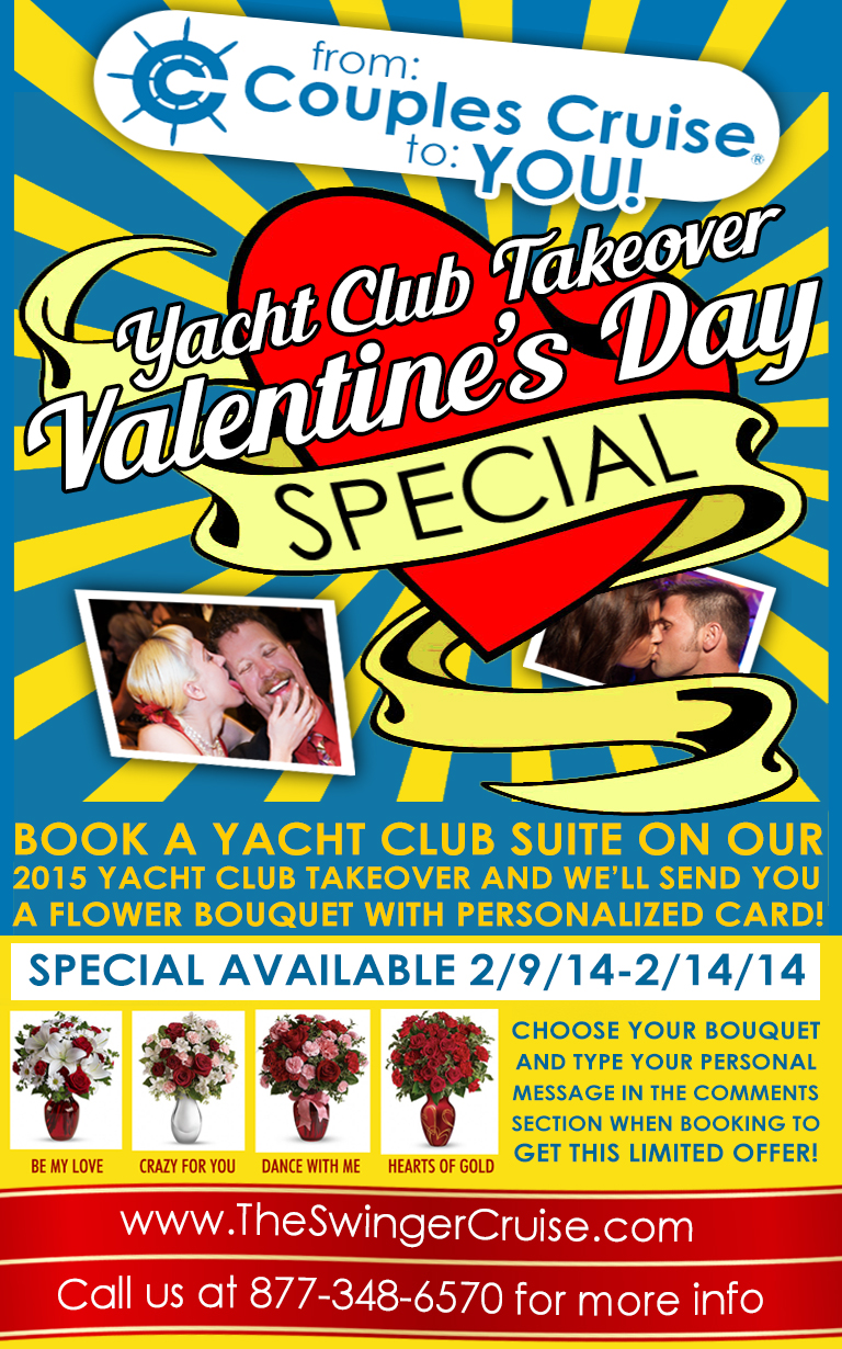 Valentine's Day Cruise + Roses