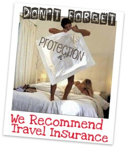TheSwingerCruise.com recommends Travel Insurance