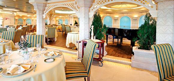 Divina Couples Cruise 2016 main restaurant