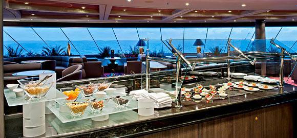 Divina Couples Cruise 2016 silver service restaurant