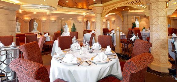 Divina Couples Cruise 2016 yacht club restaurant