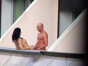 Sex On Cruise Balcony