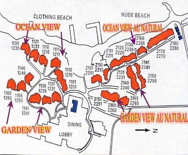 Ultimate Hedo Wedding Resort Map