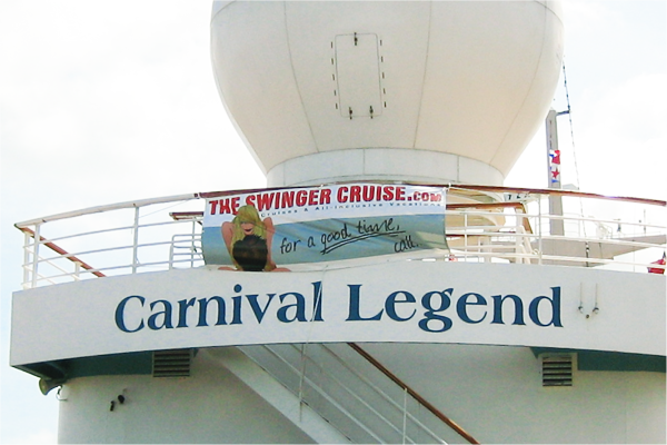 YOLO Theswingercruise world's first sex cruise