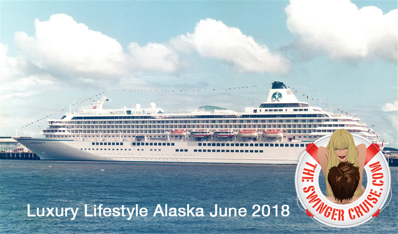 Crystal Symphony Ship for the Alaska Swinger Cruise