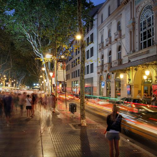 Las Rambla Barcelona VIP Pre-Cruise