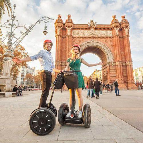 Segway Barcelona VIP Pre Cruise