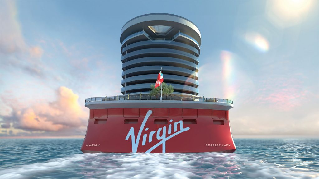 Virgin Voyages & Sexy Sailors see this fabulous new ship!