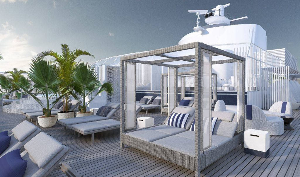 Bliss Cruise Infinity Revolution - Sexy New Suite Sundeck