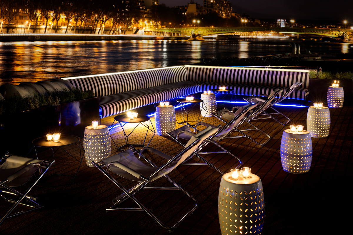2023 Rockstar Rhine River Cruise Rooftop Bar